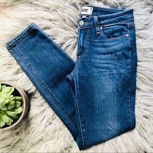 Paige denim   verdugo ankle skinny jeans 27